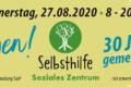 Banner 30. Selbsthilfetag in Suhl 2020 (Gestaltung: Designakut)