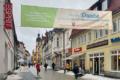 Dank an die Ehrenamtlichen im sozialen Bereich in Suhl (Banner im Steinweg Suhl)