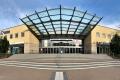 Haupteingang zum Atrium im Congress Centrum Suhl (Foto: Manuela Hahnebach)